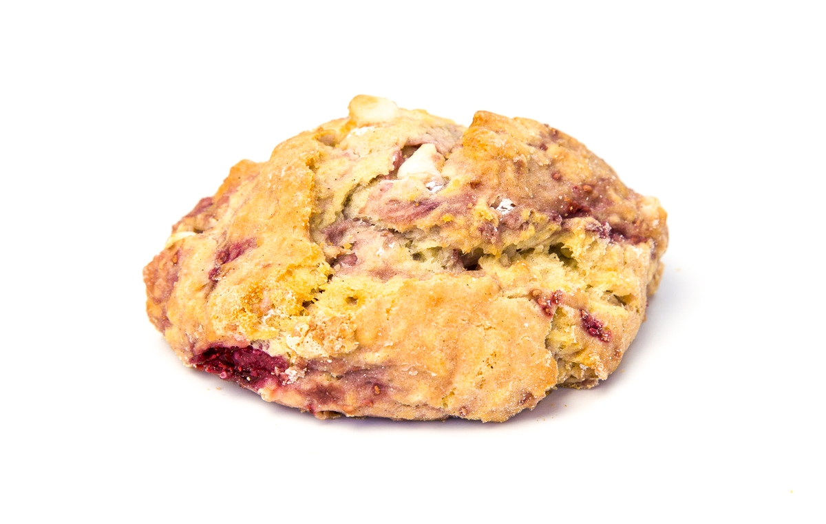 RASPBERRY-WHITE-CHOC-SCONE