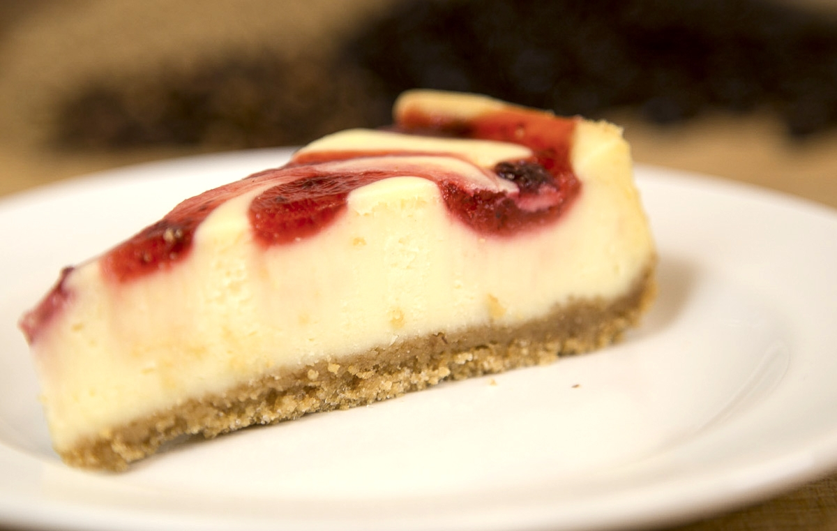 Raspberry Swirl Cheesecake IMG_0095